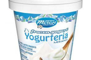 Frozen yogurt Merano Naturale -80g -low