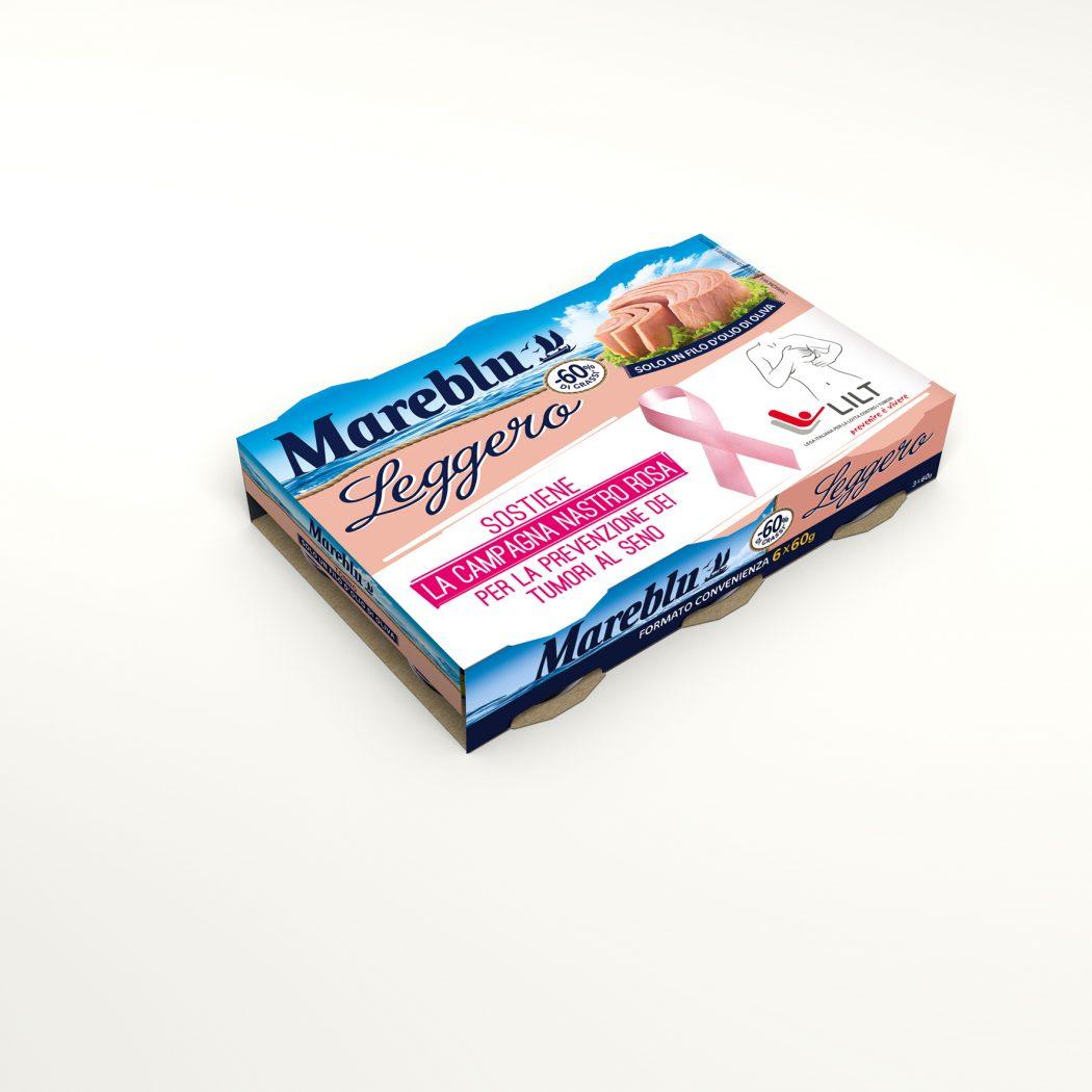 Mareblu_LEGGERO 6x60gLILT-campagna nastro rosa_