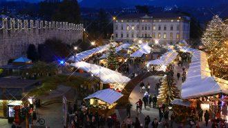 Piazza Fiera a - Archivio APT Trento L. Franceschi