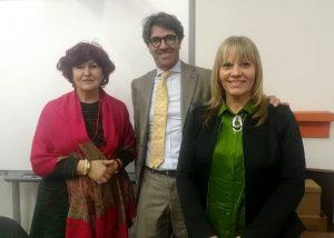 Prof.Tacconi, Attilio Brambilla e Prof.Tonani